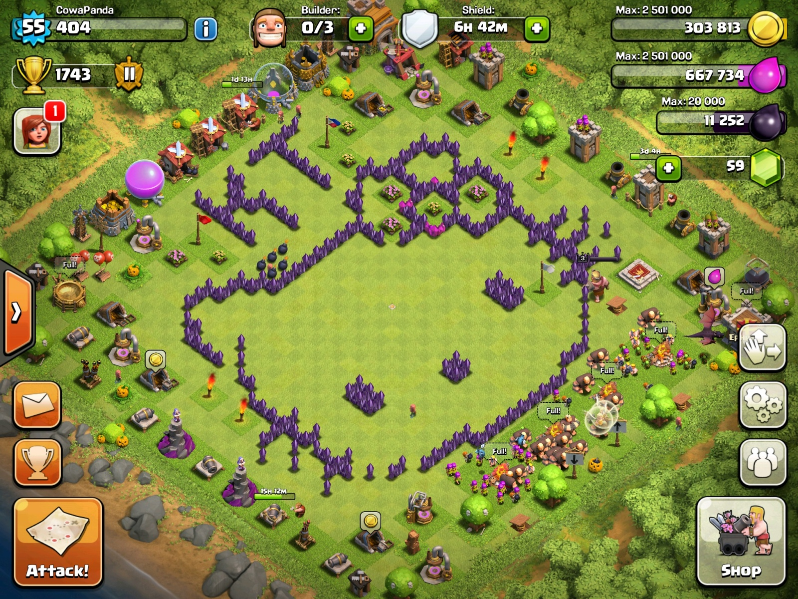 Base Base Keren Dan Unik Di Game Clash Of Clans JOS998 BLOG