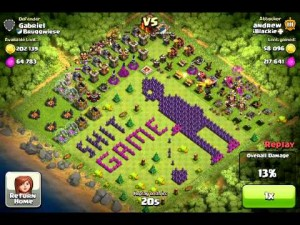 Top 10 Funny Clash of clans Base no 3