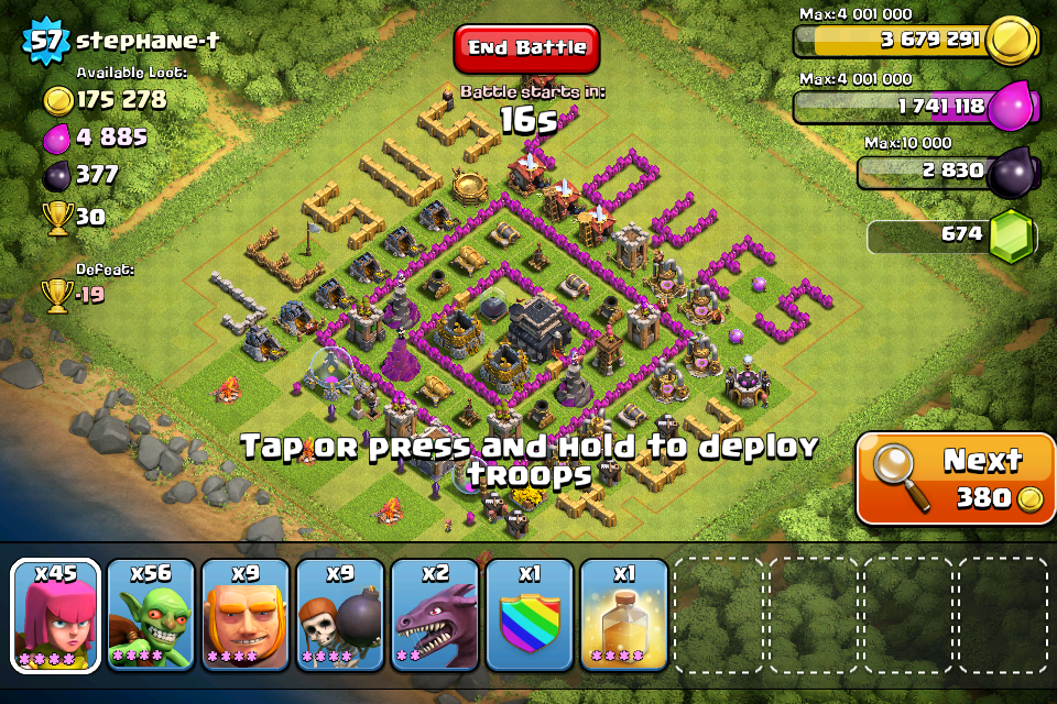 Funny clash of clans base designs car tuning