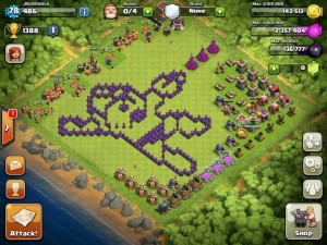 Top 10 Funny Clash of clans Base no 6