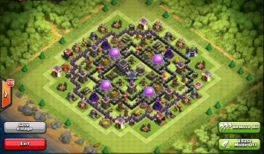 Best Clash Of Clans Town Hall Level 9 Defense Base Design 3