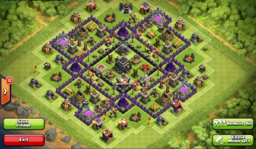Best Clash Of Clans Town Hall Level 9 Defense Base Design 4