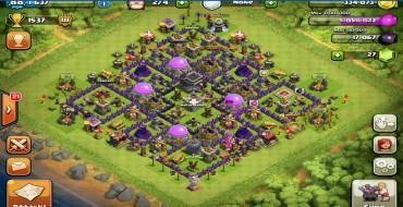 Best Clash Of Clans Town Hall Level 9 Defense Base Design 5