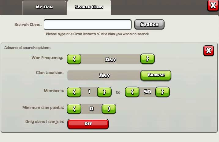 how to get clan members fast coc