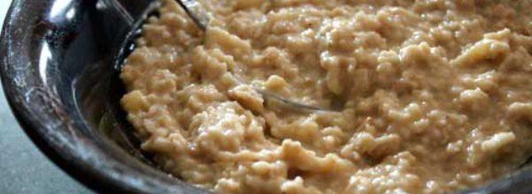 Oatmeal - Heart Healthy Diet