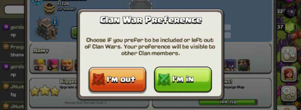 Clash of Clans - Clan War opt in| War opt out - Thats My Top 10