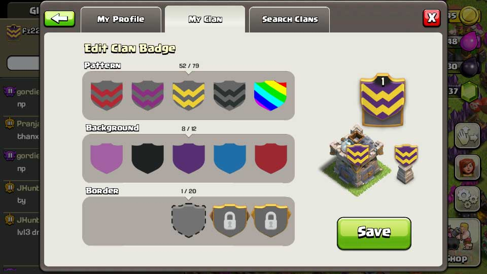 Clash of Clans - New Badge and Banner - Thats My Top 10