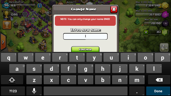 How To Change Your Name In Clash Of Clans - Thats My Top 10