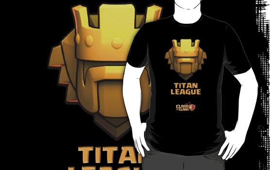 Titan League - Top 10 Clash of Clans T Shirt