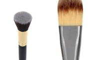 Flat Foundation Makeup Brush or Buffer Makeup Brush
