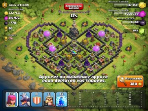Top 10 Funny Clash of clans Base no 9