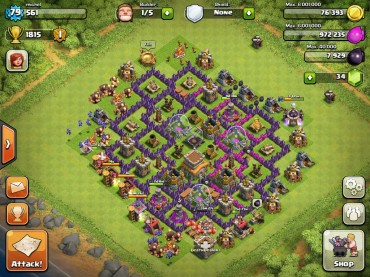 Top 10 Clash Of Clans Town Hall Level 8 Defense Base Design 9