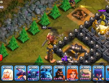 Regenration Barbarian king 1 - Top 10 Clash of clans update