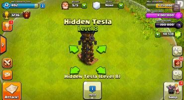 Tesla Level 8 - Top 10 Clash of clans update