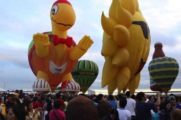 Philippine International Hot Air balloon Fiesta - Top 10 Random Festivals in Philippines