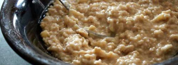 Oatmeal - Heart Healthy Diet