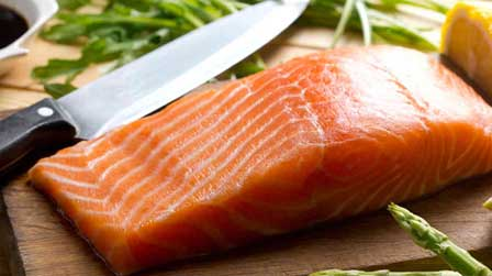 salmon  - Heart Healthy Diet