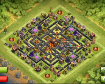 Best Clash Of Clans Town Hall Level 10 Defense Base Design 3