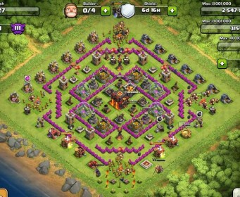 Best Clash Of Clans Town Hall Level 10 Defense Base Design 9