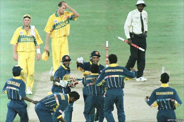 Sri Lanka 1996- Top 10 world cup performances - Thats My Top 10