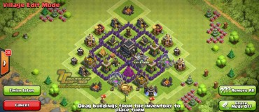 Clash Of Clans Town Hall Level 5 Defense - TH5 War Base 5 - Thats My Top 10